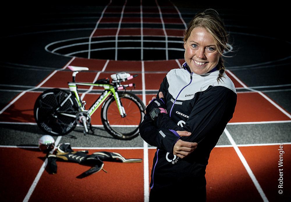 Triatlet Michelle Vesterby