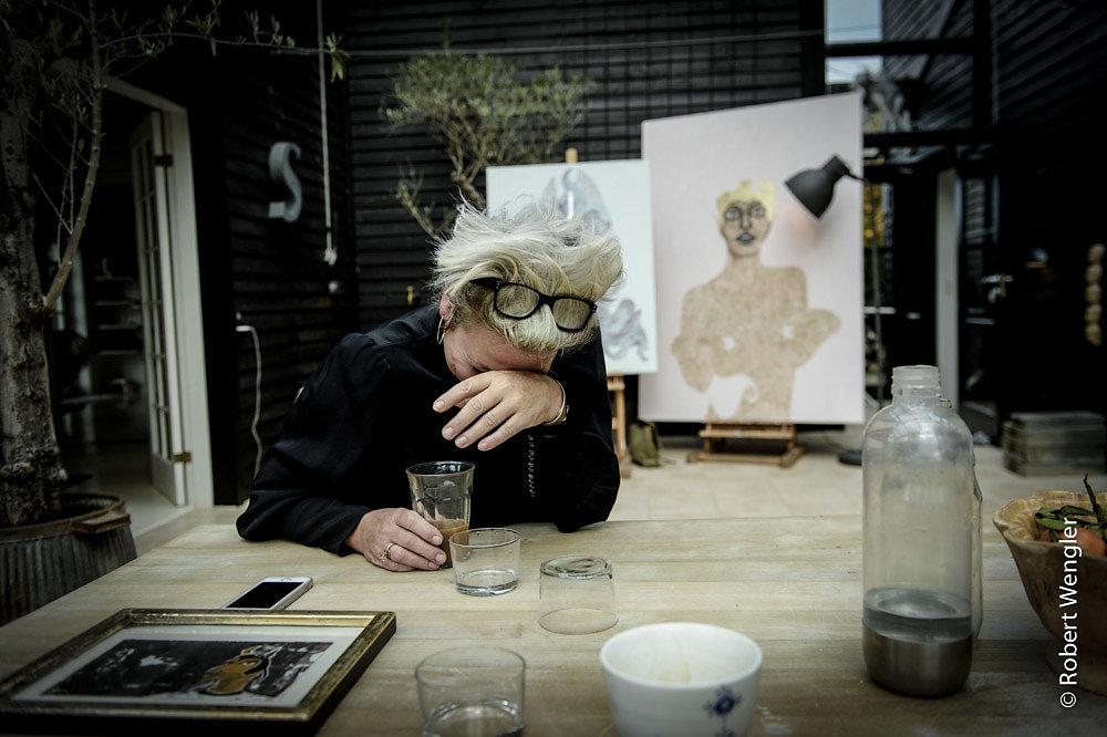Maler Sussie Trampedach