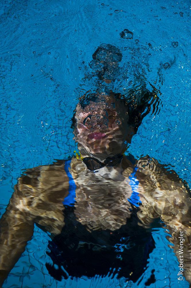 Svømmer Rikke Møller Petersen
